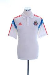 2014-15 Chivas Guadalajara adidas Polo Shirt M