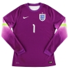 2014-15 England Player Issue Goalkeeper Shirt Butland #1 L