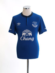 2014-15 Everton Home Shirt M