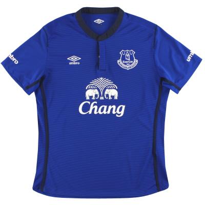 2014-15 Everton Umbro Home Shirt L