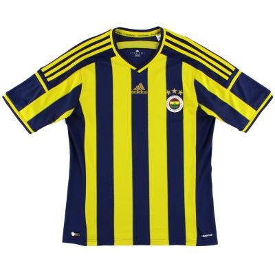 2014-15 Fenerbahce Home Shirt M