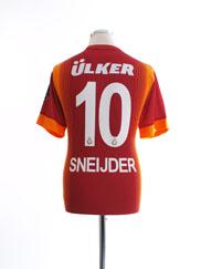 2014-15 Galatasaray Home Shirt Sneijder #10 M