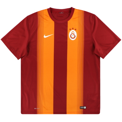 2014-15 Galatasaray Nike Basic Home Shirt XL