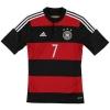 2014-15 Germany Away Shirt Schweinsteiger #7 *Mint* S