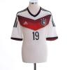 2014-15 Germany Home Shirt Gotze #19 L