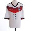 2014-15 Germany Home Shirt Gotze #19 Y