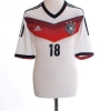 2014-15 Germany Home Shirt Kroos #18 L