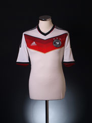 2014-15 Germany Home Shirt S