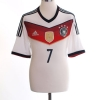 2014-15 Germany Home Shirt Schweinsteiger #7 *As New* M