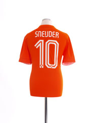 2014-15 Holland Home Shirt Sneijder #10 *Mint* M
