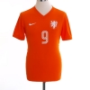 2014-15 Holland Home Shirt v. Persie #9 XL.Boys