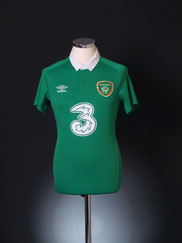 2014-15 Ireland Home Shirt S