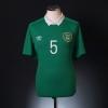 2014-15 Ireland Player Issue Home Shirt #5 XL