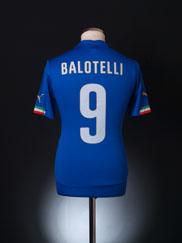 2014-15 Italy Home Shirt Balotelli #9 *BNIB*