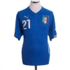 2014-15 Italy Home Shirt Pirlo #21 L