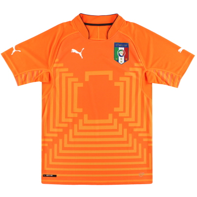 2014-15 Italy Puma Goalkeeper Shirt M