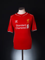 2014-15 Liverpool Home Shirt M