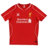 2014-15 Liverpool Home Shirt Suarez #7 *Mint* L.Boys