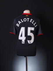 2014-15 Liverpool Third Shirt Balotelli #45 S