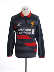 2014-15 Liverpool Third Shirt L/S S