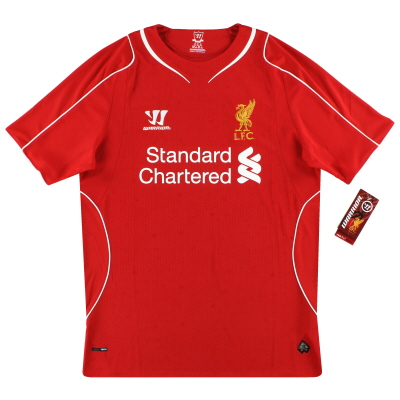 2014-15 Liverpool Warrior Home Shirt *w/tags* M