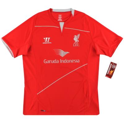 2014-15 Liverpool Warrior Training Shirt *BNIB* L