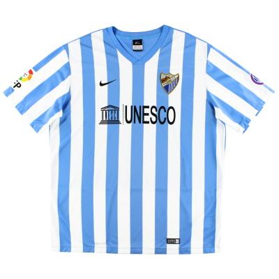 2014-15 Malaga Home Shirt XXL