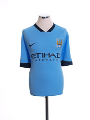 2014-15 Manchester City Home Shirt XL