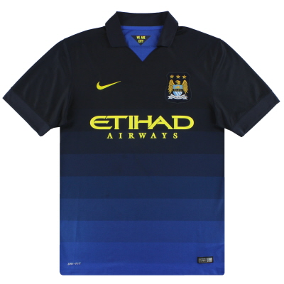2014-15 Manchester City Nike Away Shirt M