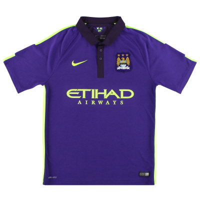 2014-15 Manchester City Nike Third Shirt M