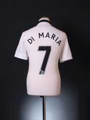 2014-15 Manchester United Away Shirt Di Maria #7 M