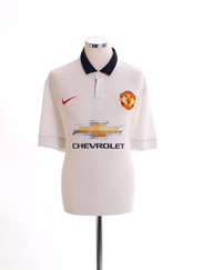 2014-15 Manchester United 'Authentic' Away Shirt M