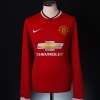 2014-15 Manchester United Home Shirt Falcao #9 L/S M