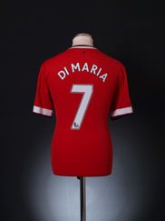 2014-15 Manchester United Home Shirt Di Maria  #7 M