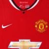 2014-15 Manchester United Home Shirt Rojo #5 M