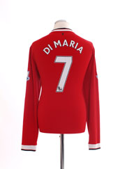 2014-15 Manchester United Home Shirt L/S L