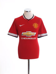 2014-15 Manchester United Home Shirt L