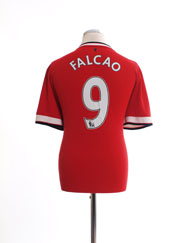 2014-15 Manchester United Home Shirt Falcao #9 L