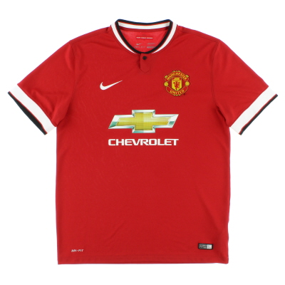 2014-15 Manchester United Home Shirt *Mint* M