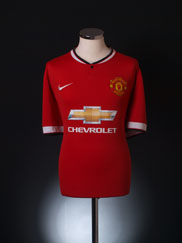2014-15 Manchester United Home Shirt XXL