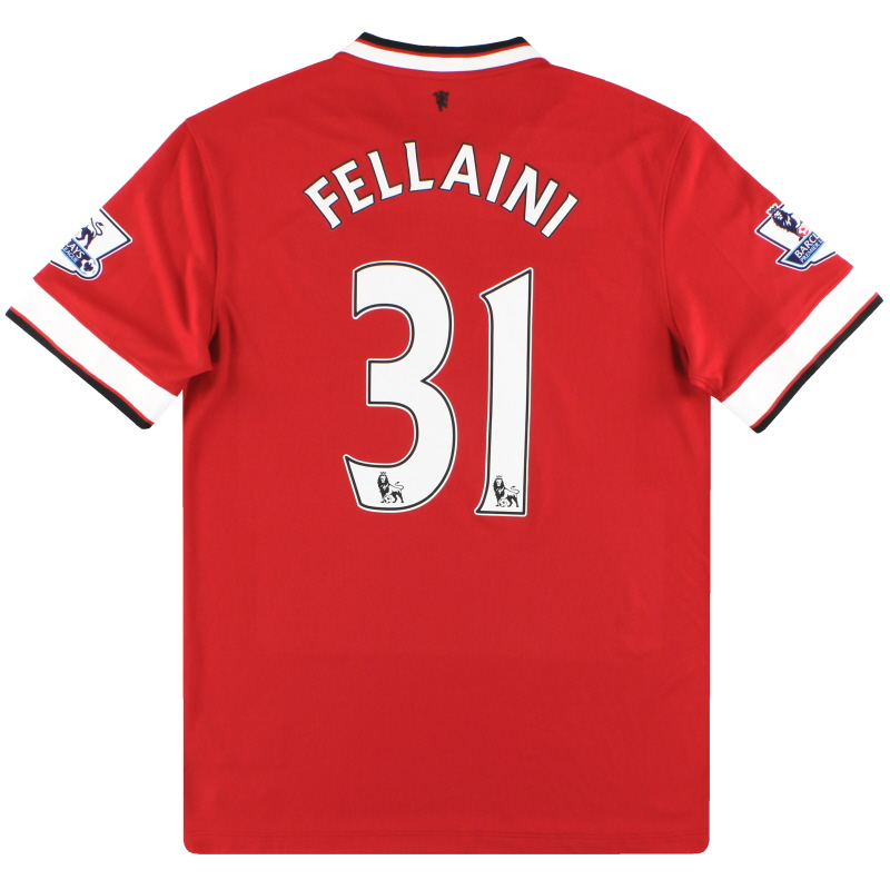 2014-15 Manchester United Nike Home Shirt Fellaini #31 *As New* XL