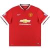 2014-15 Manchester United Nike Home Shirt Fellaini #31 *As New* XL