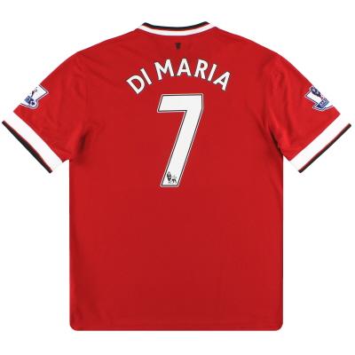 2014-15 Manchester United Nike Home Shirt Di Maria #7 *Mint* L
