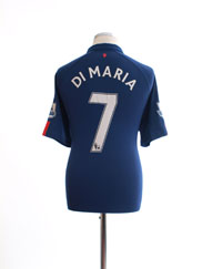 2014-15 Manchester United Third Shirt Di Maria #7 L