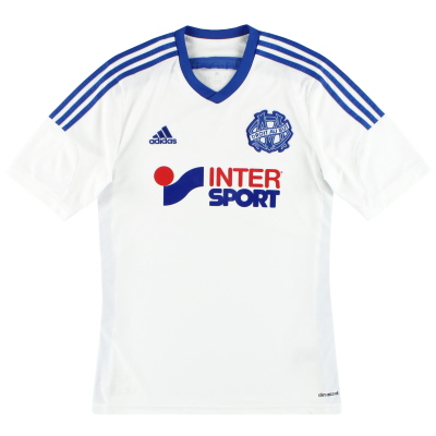 2014-15 Marseille adidas Home Shirt M
