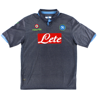 2014-15 Napoli Away Shirt *Mint* L