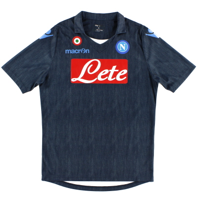 2014-15 Napoli Basic Away Shirt S