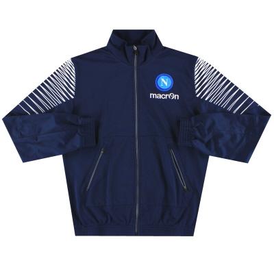 2014-15 Napoli Macron Track Jacket M