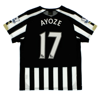 2014-15 Newcastle Home Shirt Ayoze #17 S