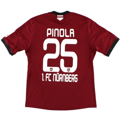 2014-15 Nurnberg Home Shirt Pinola #25 M